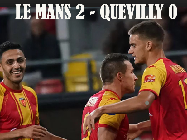 Le Mans Quevilly le match